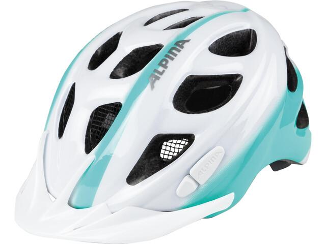 Alpina Rocky Helmet Kids white-smaragd